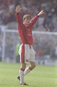 Beckham halfway goal