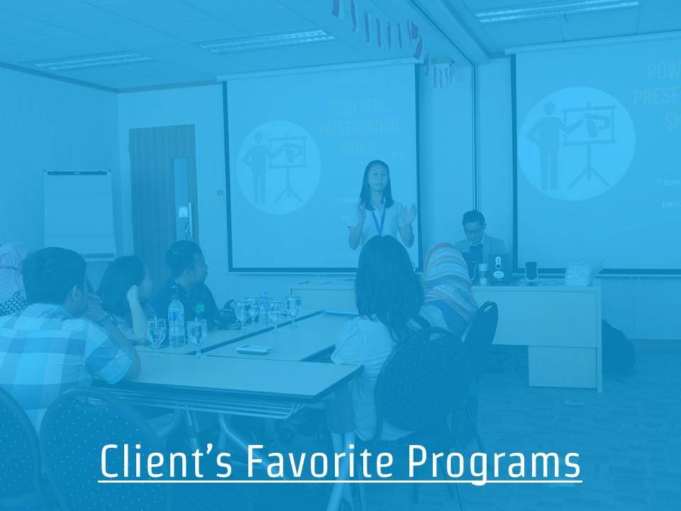 Client's Favorite Programs