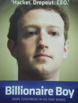 Buku BILLIONAIRE BOY mark zuckerberg