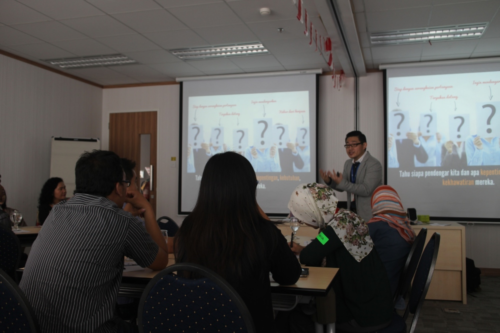 Presentation Skills Seminar With Huawei Indonesia