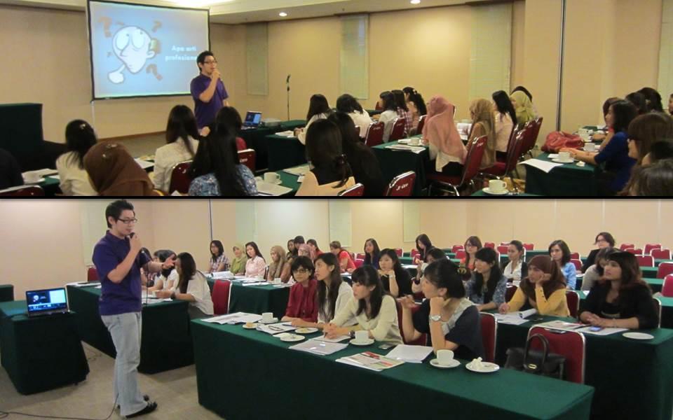 Training LO untuk kegiatan INDODEFENCE 2012