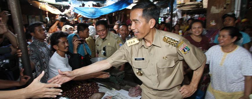 Blusukan : ciri khas kerja Jokowi