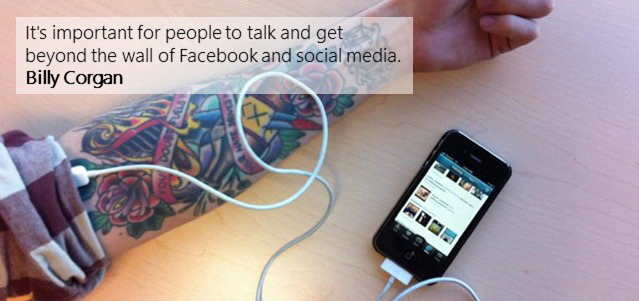 Talk beyond the wall of facebook