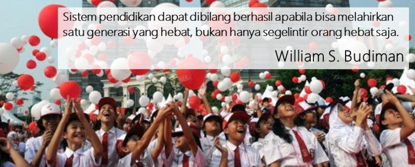 Quote SB - indikasi kesuksesan pendidikan