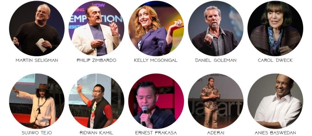TEDxSpeakers